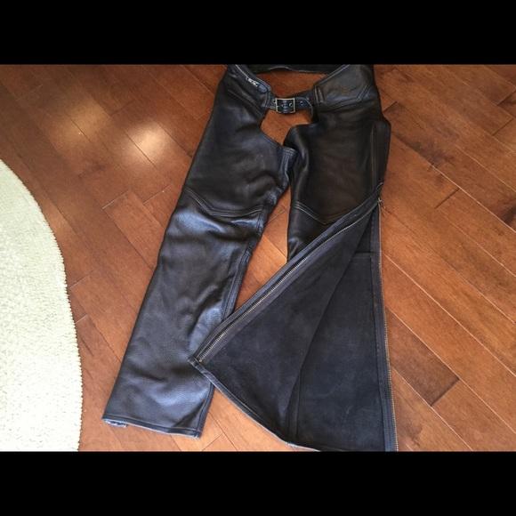 Ladies Leather Chaps (Custom)